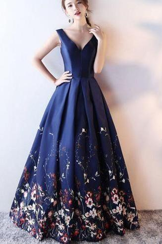 427bd93cdba Whimsical Floral Prom Dresses for Teenagers and Yo